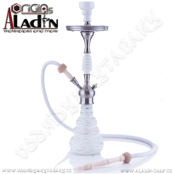 Bílá vodní dýmka Aladin Origins Lagos 65 cm